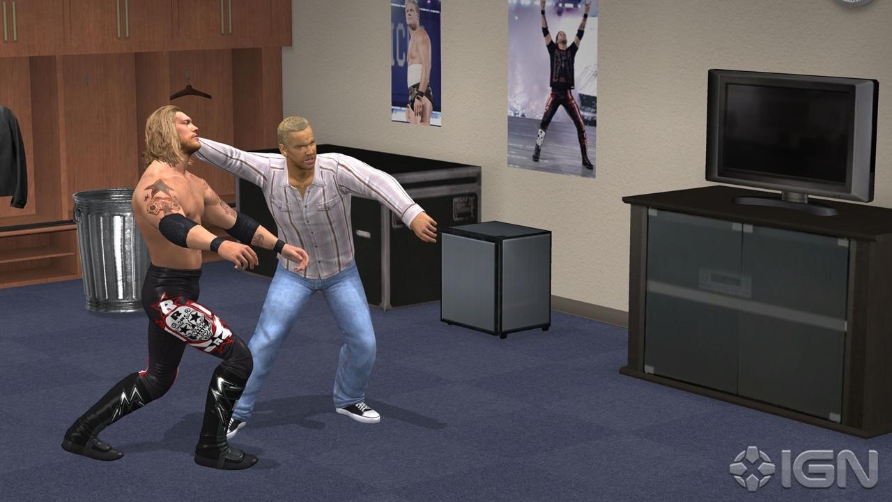 Edge - WWE SmackDown vs. Raw 2011 - Roster Hammer Throw Technique