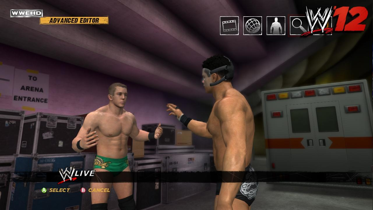 Cody Rhodes WWE '12 Roster
