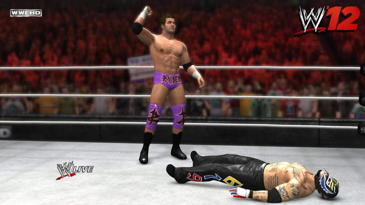 Updated Roster & Details for WWE 13 Video Game