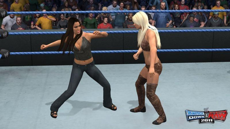 Maryse Ouellet Measurements: WWE SmackDown Vs. Raw 2011