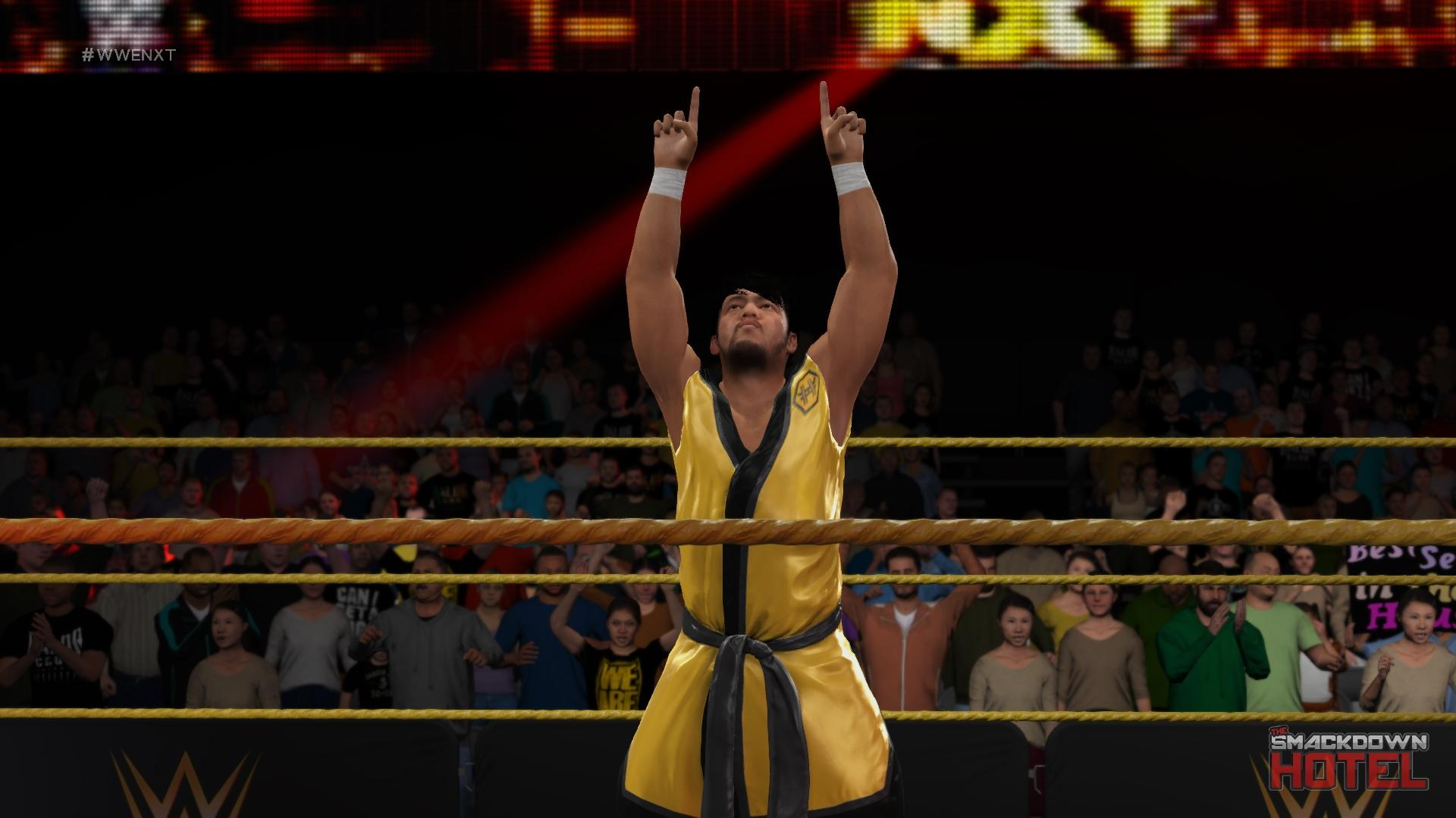 hideo itami wwe 2k17 roster