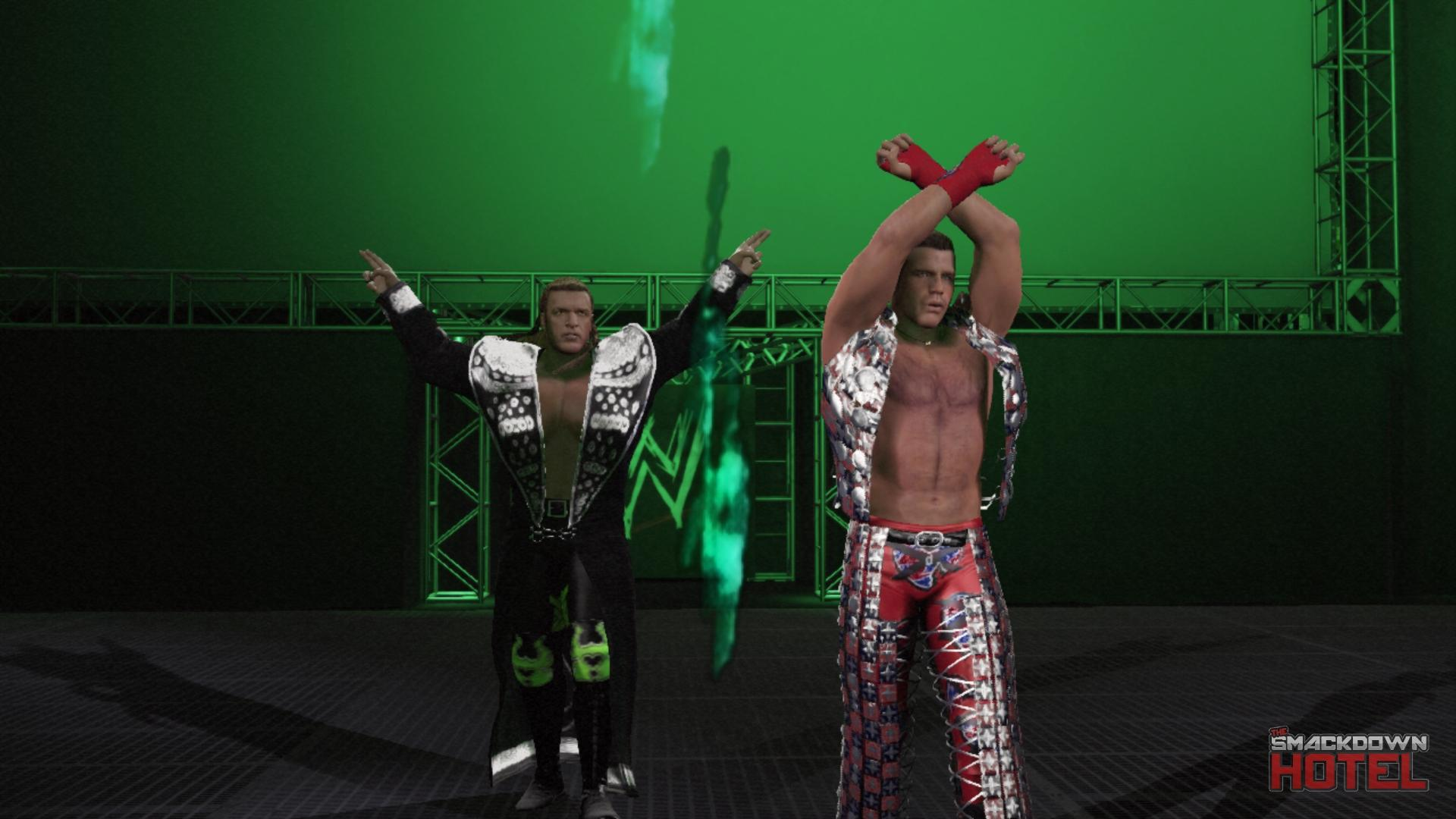 John cena and shawn michaels-4881