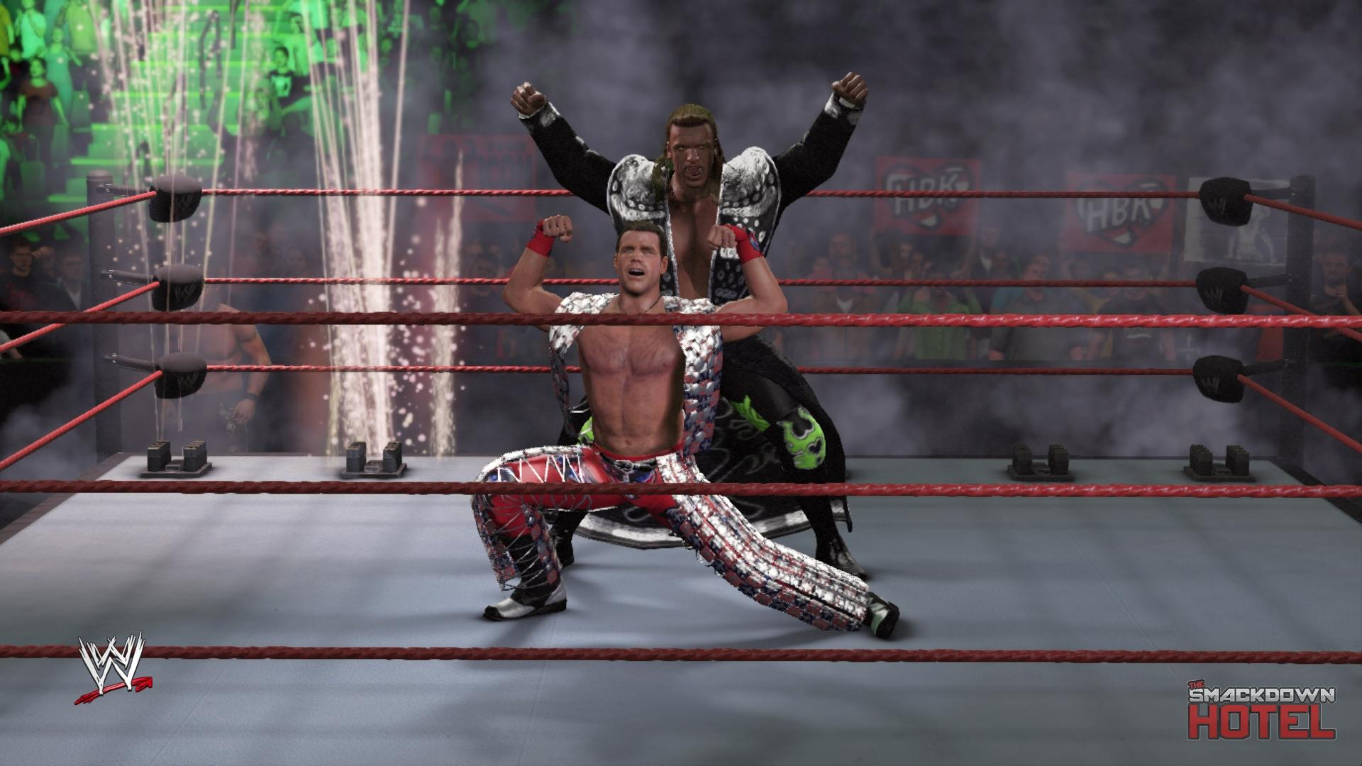 John cena and shawn michaels-3692