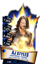 SuperCard AJStyles S3 14 WrestleMania33