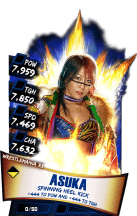 SuperCard Asuka S3 14 WrestleMania33