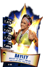 SuperCard Bayley S3 14 WrestleMania33
