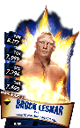 SuperCard BrockLesnar S3 14 WrestleMania33
