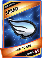 SuperCard Enhancement Speed S3 14 WrestleMania33