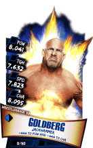 SuperCard Goldberg S3 14 WrestleMania33