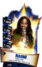 SuperCard Naomi S3 14 WrestleMania33