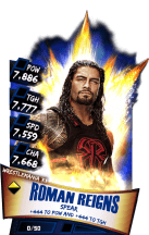 SuperCard RomanReigns S3 14 WrestleMania33