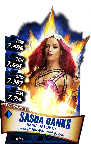 SuperCard SashaBanks S3 14 WrestleMania33