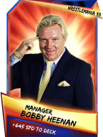 SuperCard Support BobbyHeenan S3 14 WrestleMania33
