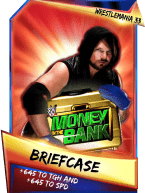 SuperCard Support Briefcase S3 14 WrestleMania33