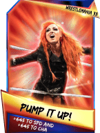 SuperCard Support PumpItUp S3 14 WrestleMania33