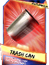 SuperCard Support TrashCan S3 14 WrestleMania33