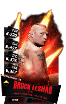 SuperCard BrockLesnar S3 14 WrestleMania33 RingDom
