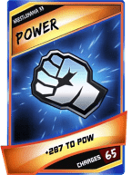 SuperCard Enhancement Power S3 14 WrestleMania33