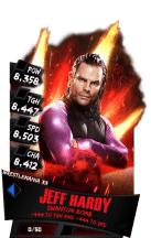 SuperCard JeffHardy S3 14 WrestleMania33 RingDom