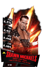 SuperCard ShawnMichaels S3 14 WrestleMania33 RingDom