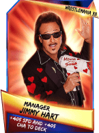 SuperCard Support JimmyHart S3 14 WrestleMania33