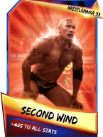 SuperCard Support SecondWind S3 14 WrestleMania33