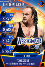 SuperCard Undertaker S3 14 WrestleMania33 MITB