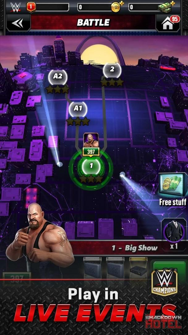 WWE Champions: Game Modes & Features Details - Guide