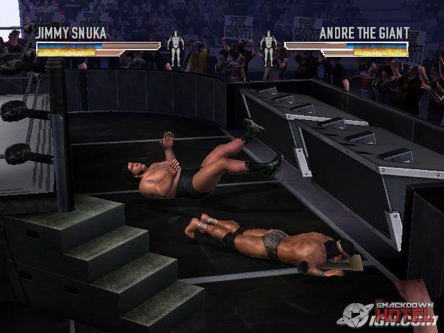 Braun Strowman hits a Running PowerSlam on 2 fans via ...