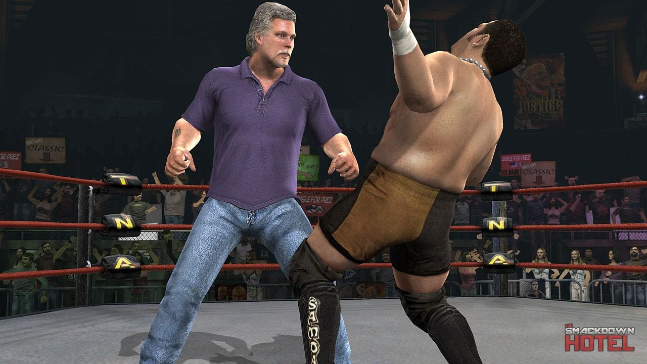 New Wrestling Game For Ps3 : Kevin nash tna impact roster
