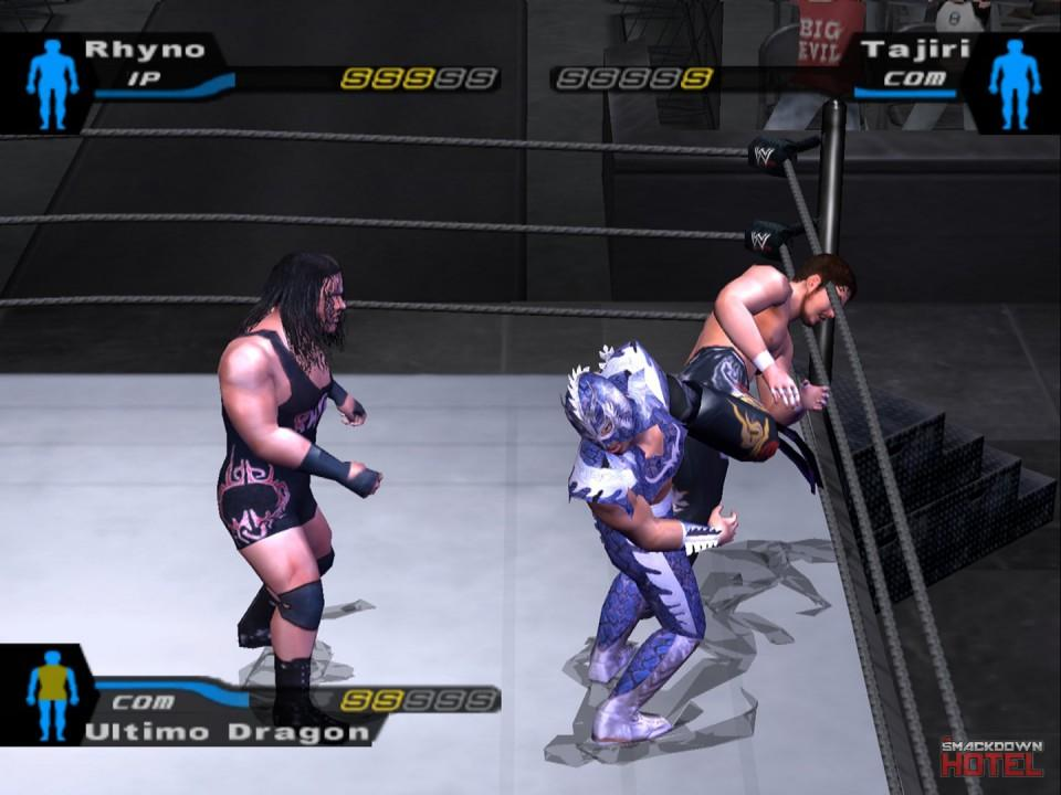 Ultimo Dragon - WWE SmackDown! Here Comes The Pain - Roster