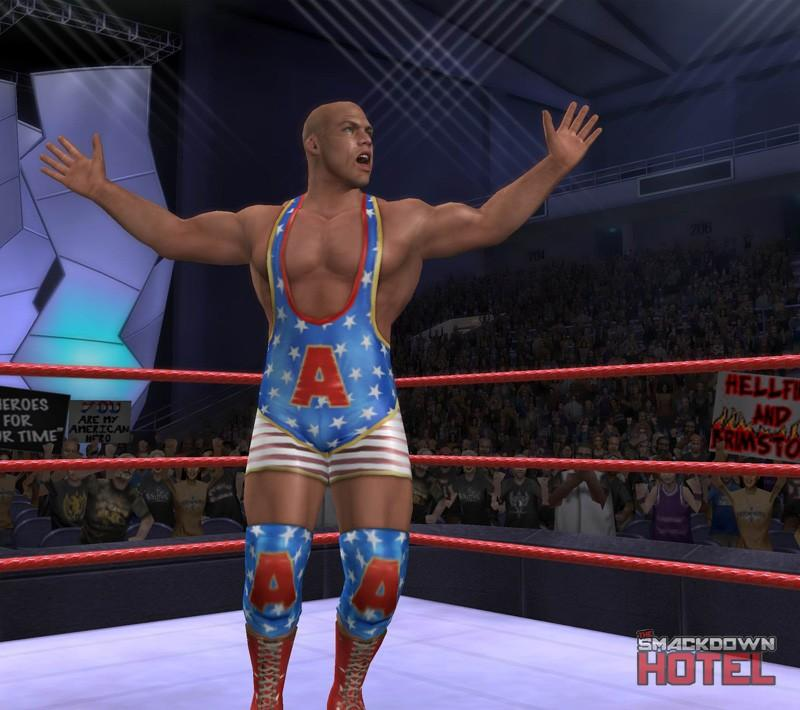 Kurt Angle Wwe Smackdown Vs Raw 2006 Roster