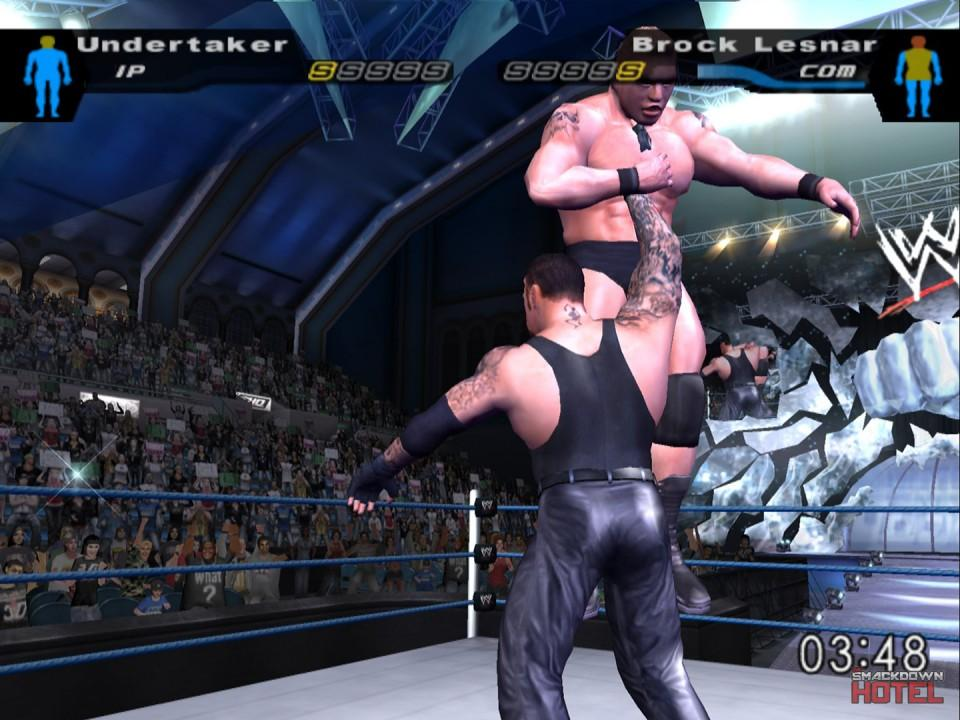 BrockLesnar Goldberg 3 HereComesThePain 2 5