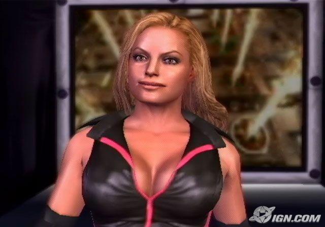 Trish Stratus Wwe Smackdown Vs Raw 2006 Roster