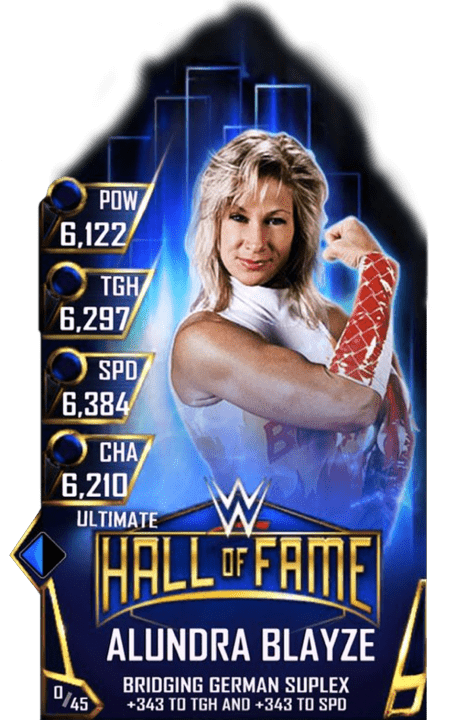 SuperCard AlundraBlayze S3 13 Ultimate HallOfFame