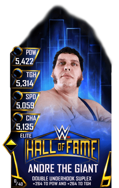 Andre The Giant Wwe Supercard Season 1 Debut Wwe