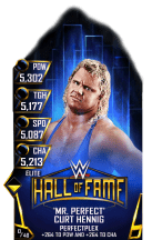 SuperCard CurtHennig S3 13 Elite HallOfFame