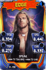 SuperCard Edge S3 14 WrestleMania33 Throwback