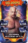 SuperCard Goldberg S3 14 WrestleMania33 Throwback