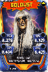 SuperCard Goldust S3 14 WrestleMania33 Throwback