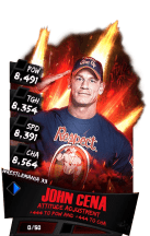 SuperCard JohnCena S3 14 WrestleMania33 RingDom