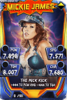 SuperCard MickieJames S3 14 WrestleMania33 Throwback