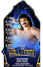 SuperCard RickRude S3 13 Ultimate HallOfFame