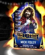 Supercard WM33 HallOfFame Foley