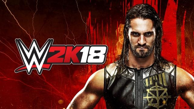 WWE2K18 Wallpaper Seth Rollins