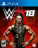 WWE 2K18 PS4 Cover