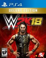 WWE 2K18 PS4 Cover Deluxe Edition