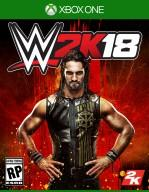 WWE 2K18 XboxOne Cover