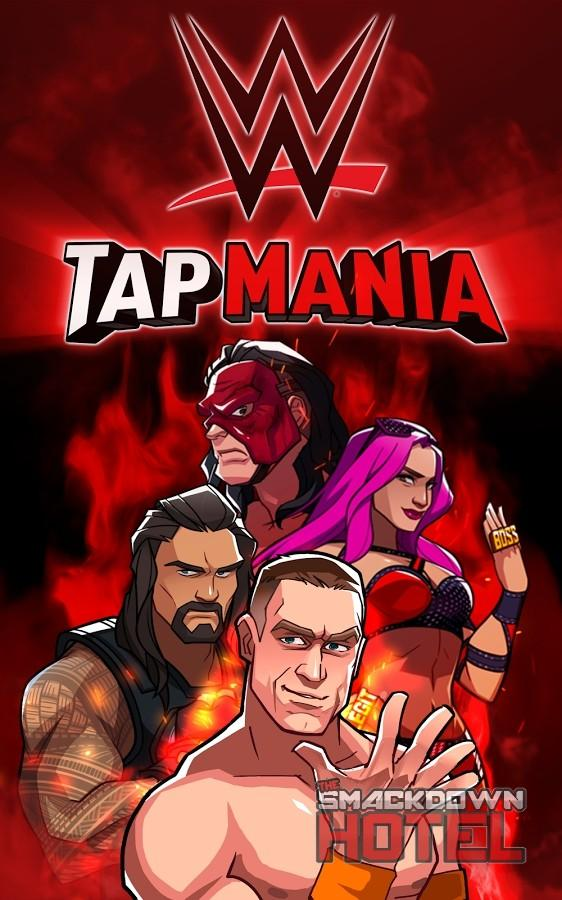 WWE TapMania Cover