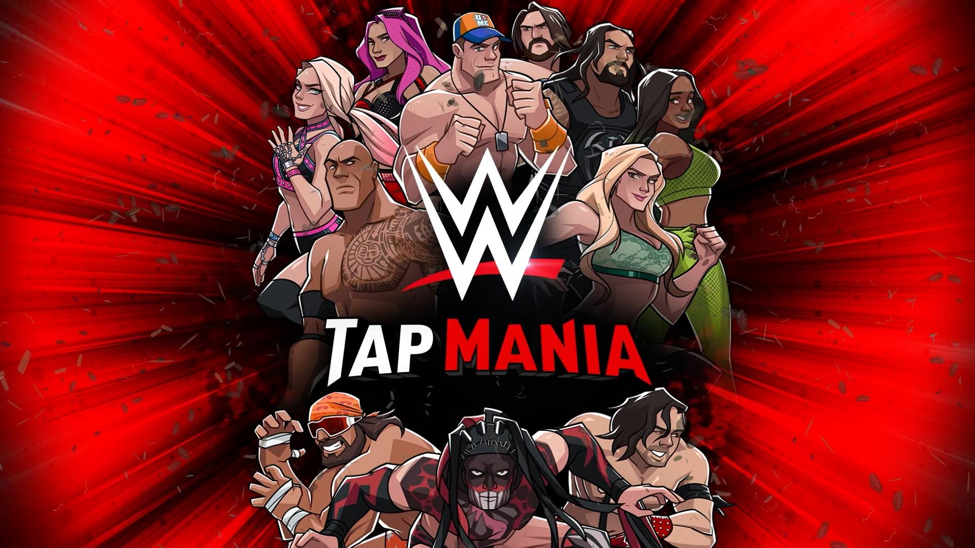 WWE TapMania Wallpaper